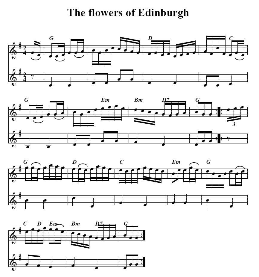 The Flowers Of Edinburgh Song