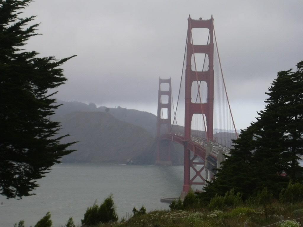 Fog in summer, San Francisco