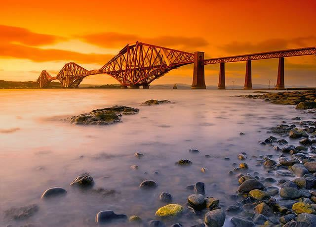 Forth Railway Bridge Image