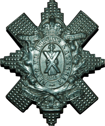Glasgow Highlanders Cap Badge