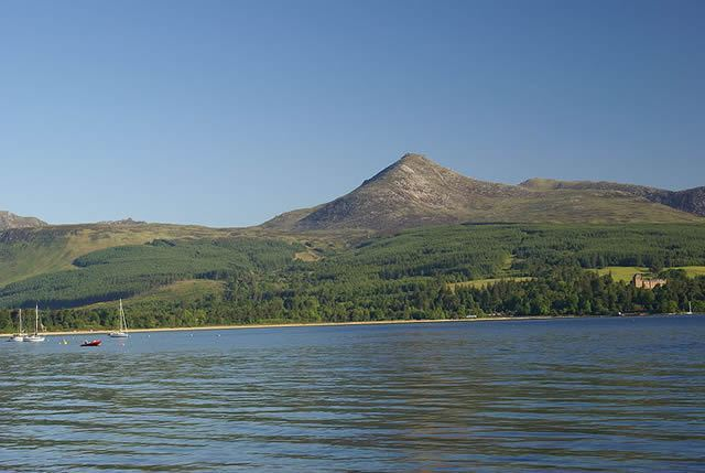 Goat Fell Gallop Image