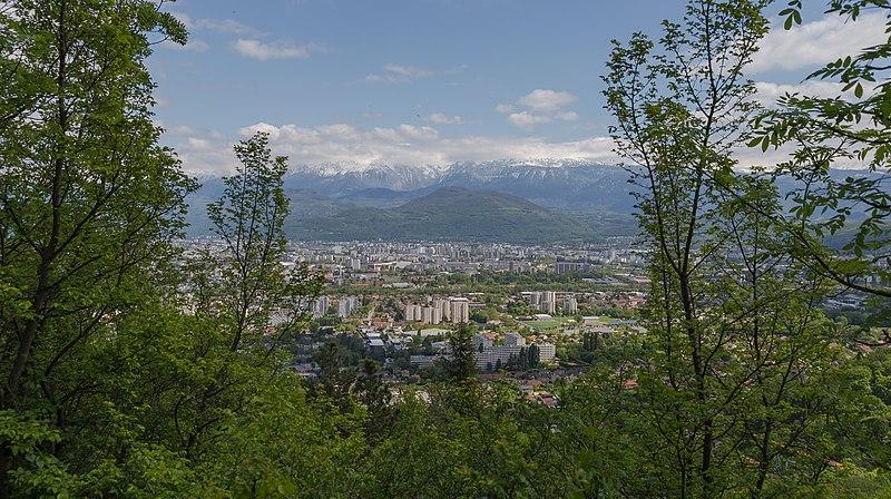 Panorama Of Grenoble
