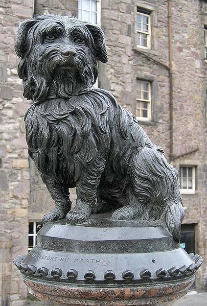 Greyfriar's Bobby Statue Image