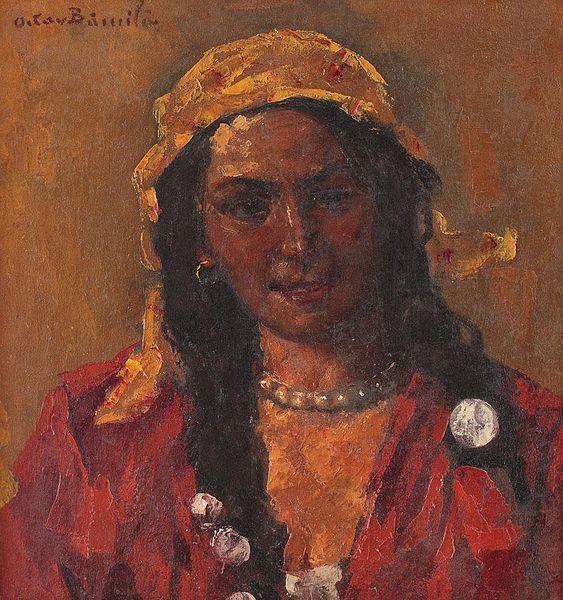 Gypsy Girl's Headscarf Image