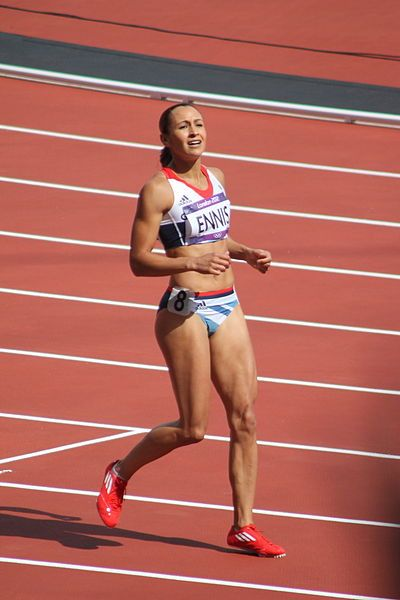 Jessica Ennis Heptathlon
