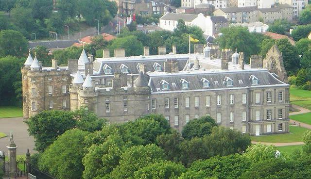 Holyrood House, Palace
