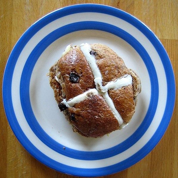 Hot Cross Bun Image