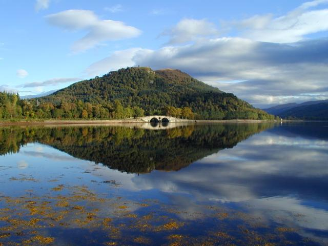 Inveraray Bridge Wind On Loch Fyne Image
