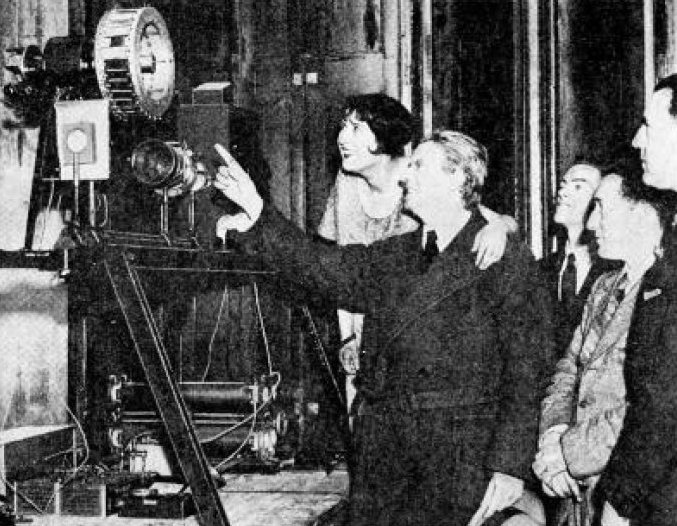 First public demonstration of television by John Logie Baird in 1931