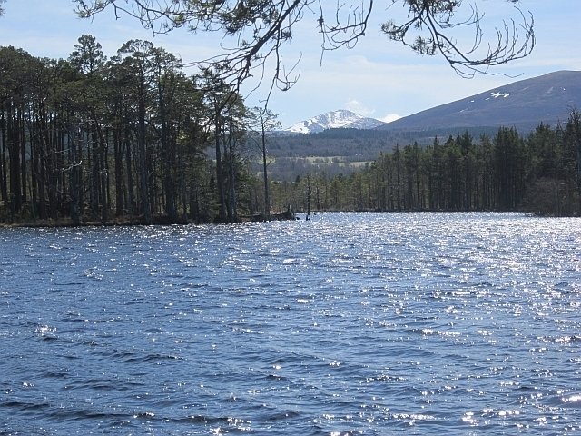 Loch Mallachie Photograph.