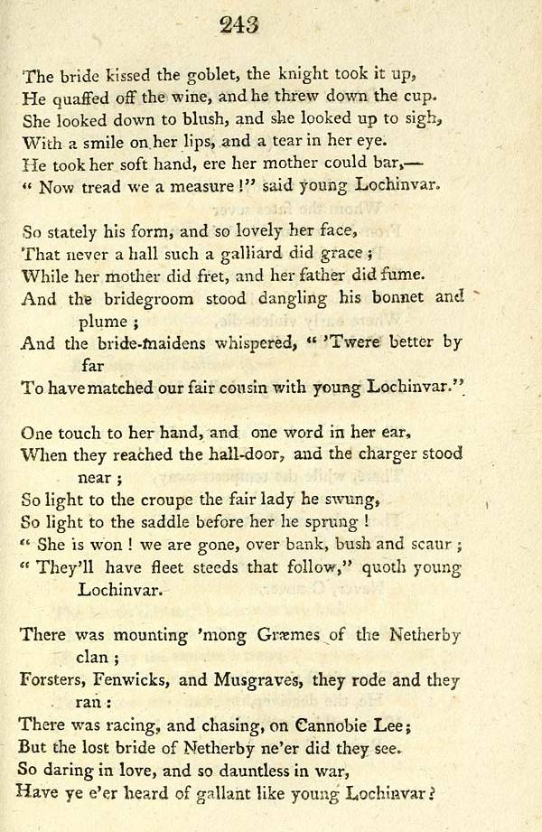 Now tread we a measure, Lochinvar page 2, Glen collection of printed music