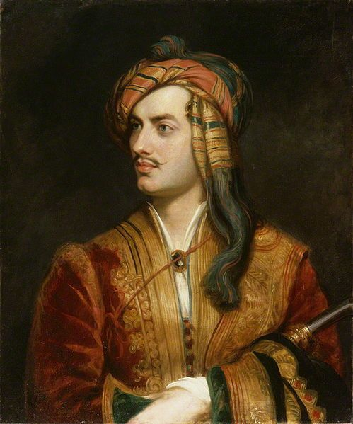 Lord Byron Painting Image