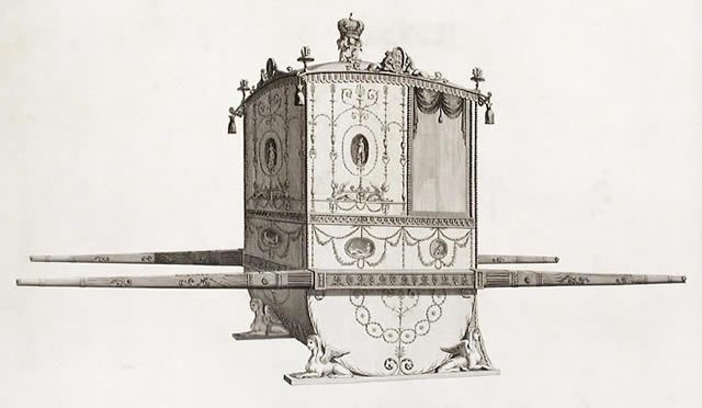 Machine Without Horses Sedan Chair
