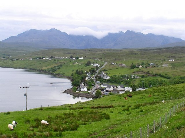 May In Carbost, Minginish, Skye