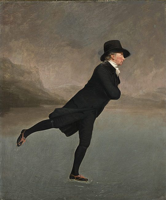 The Minister On The Loch Painting Image