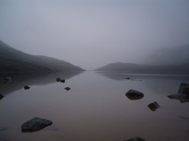 Mist O'er The Loch Image