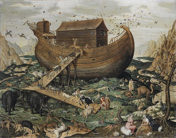 Noah's Ark Painting Image