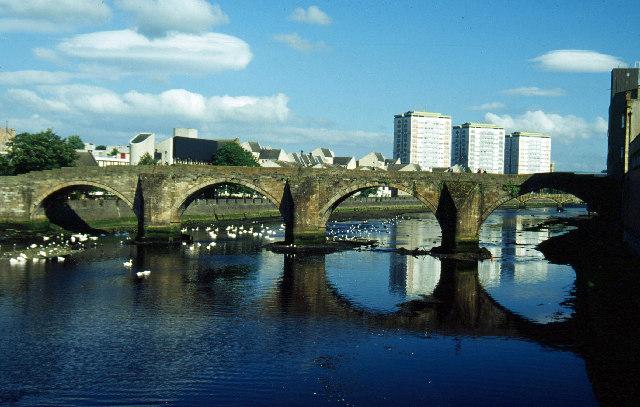 Old Bridge Of Ayr Image