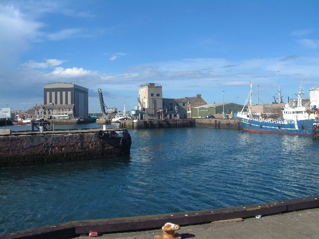 Peterhead Harbour Image