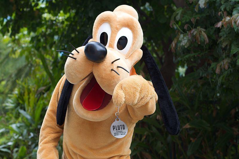 Pluto's Head Image