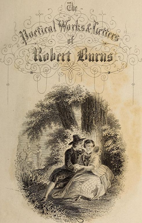 Poetical Works And Letters Of Robert Burns Image