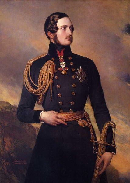 Royal Prince Albert Portrait