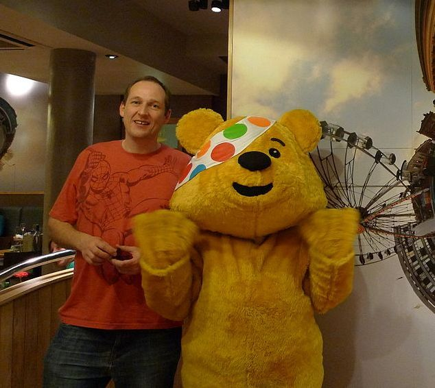 Pudsey Bear Image