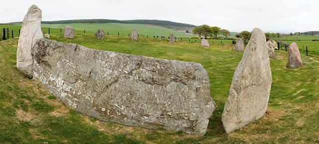 Recumbent Stone Image