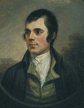 Robert Burns Painting Image