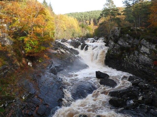 Falls of Rogie Image