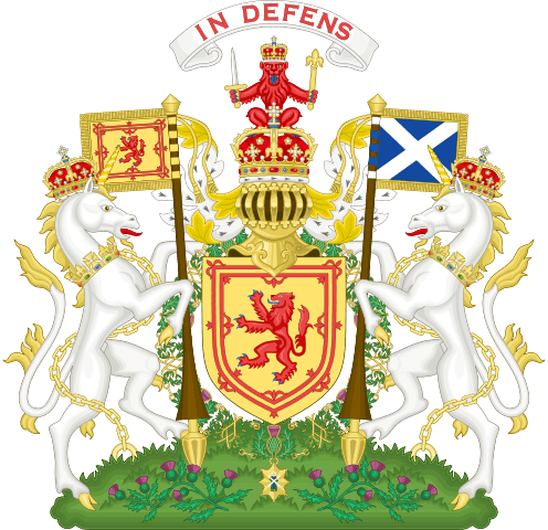 Royal Coat of Arms of the Kingdom of Scotland Image