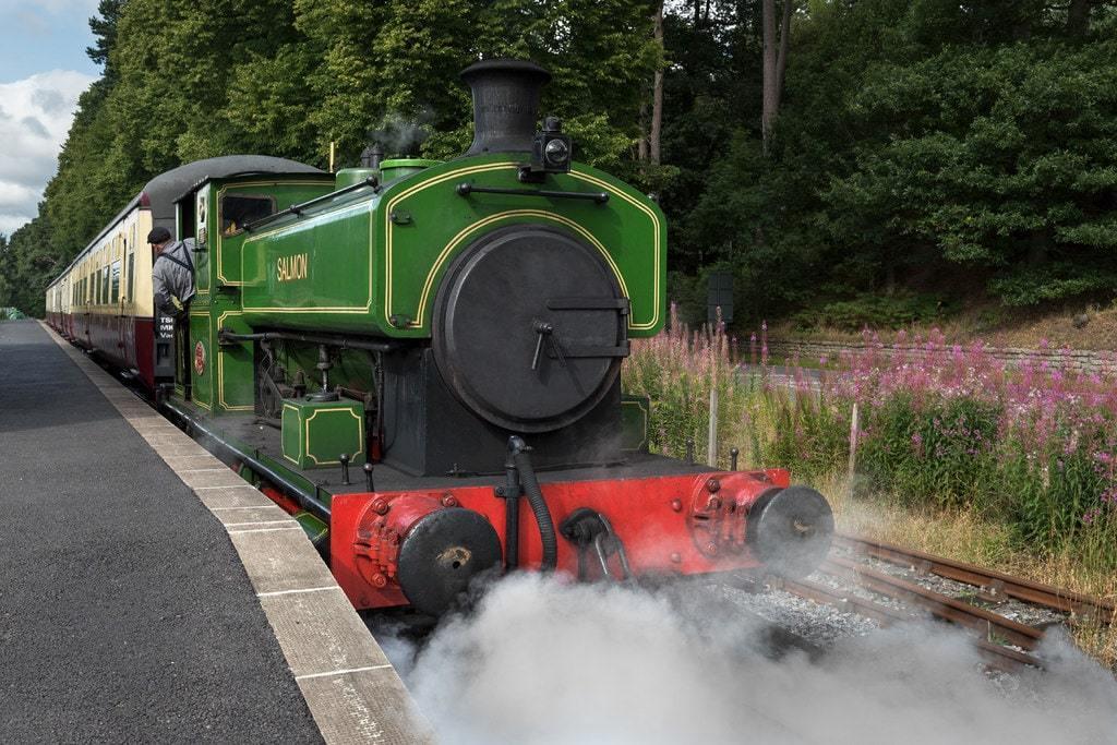 Royal Deeside Railway Photograph Caledonian locomotive Image