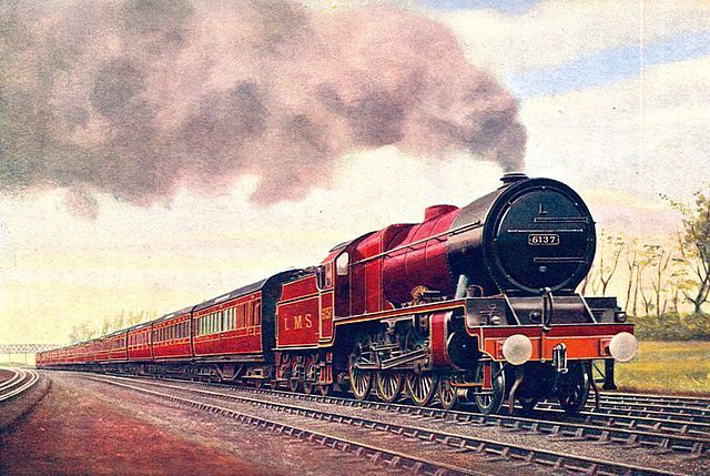 Royal Scot Northward Bound Image