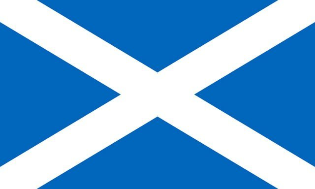 The Saltire Society Reel - National flag of Scotland Image
