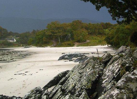Sands At Morar Image