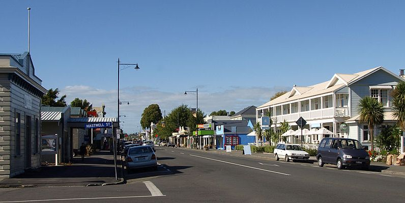 Greytown, Wairarapa, New Zealand Image