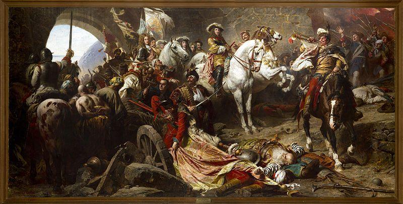 Siege Of Buda Painting Image