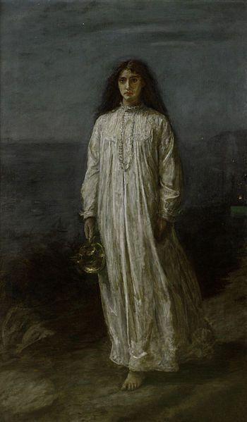 Sleepwalking Painting Image