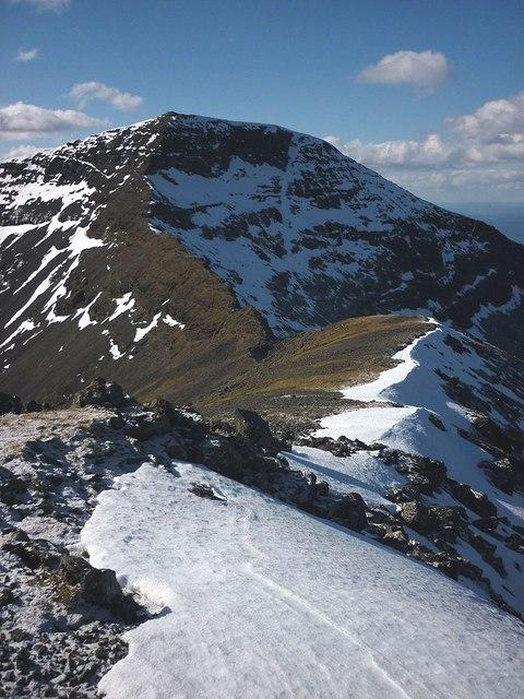 Snow On The Mountain Image