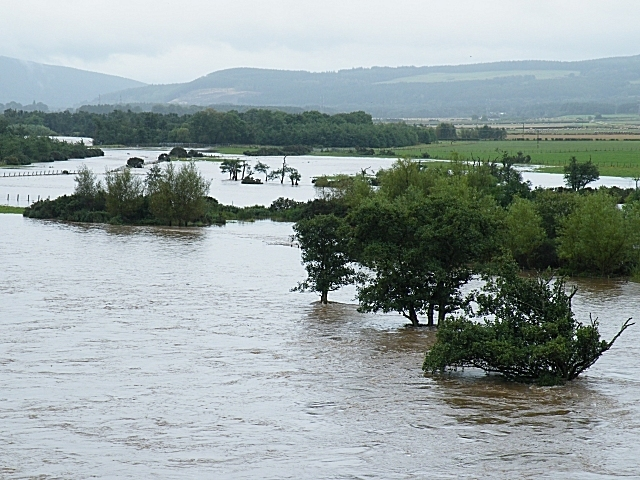 The Spey In Spate Image
