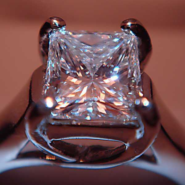 Square Cut Diamond Image