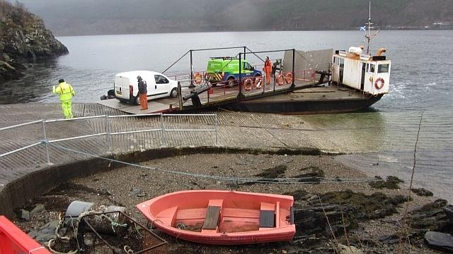 Strome Ferry Image