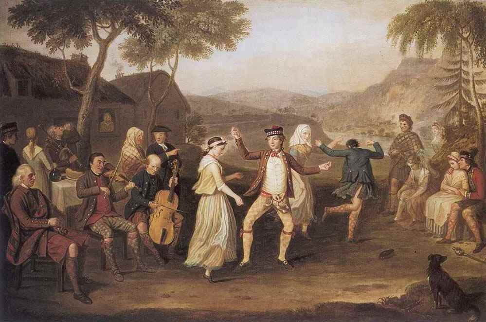 The Highland Wedding, A summer party,