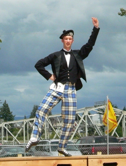 Willie With His Tartan Trews Dancing Instruction