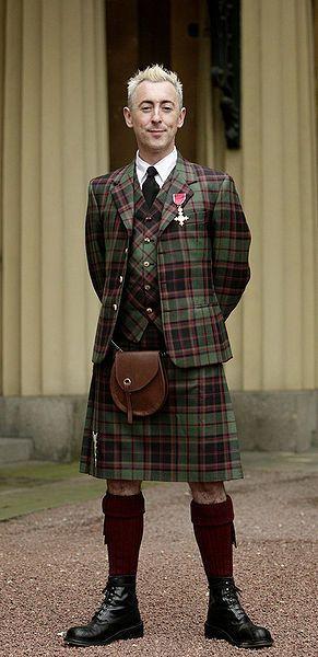 Kilt With Tartan Waistcoat Image