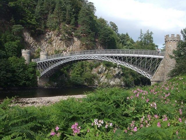 Telford Bridge At Craigellachie Image