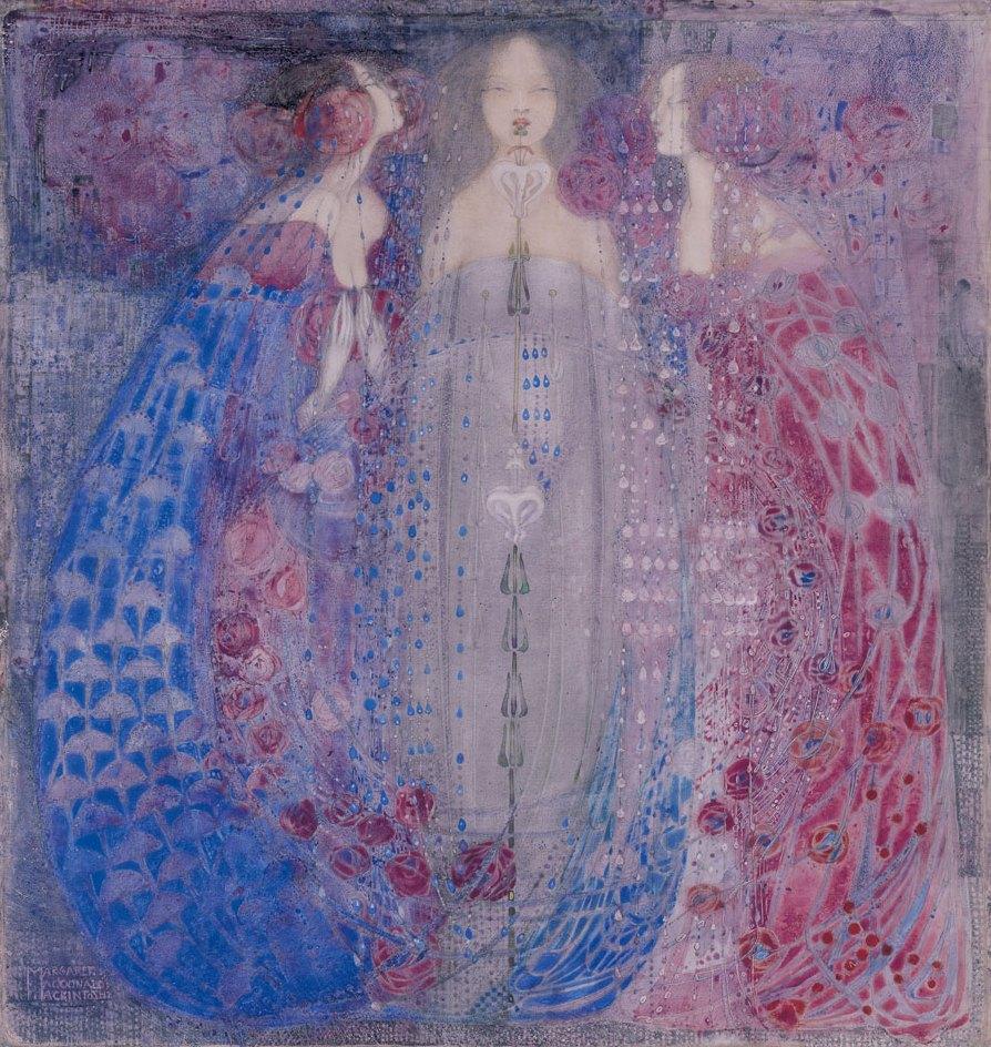 The Three Perfumes, Art Nouveau
