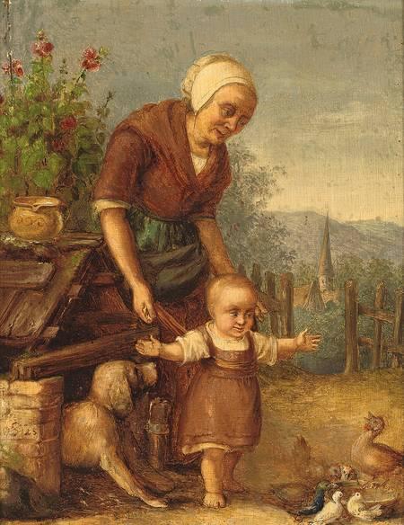 Toddle Wi' Joy Painting Image