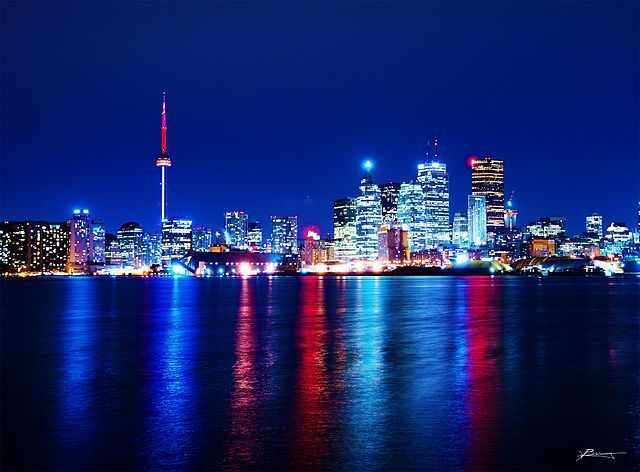 Toronto Reflections Image