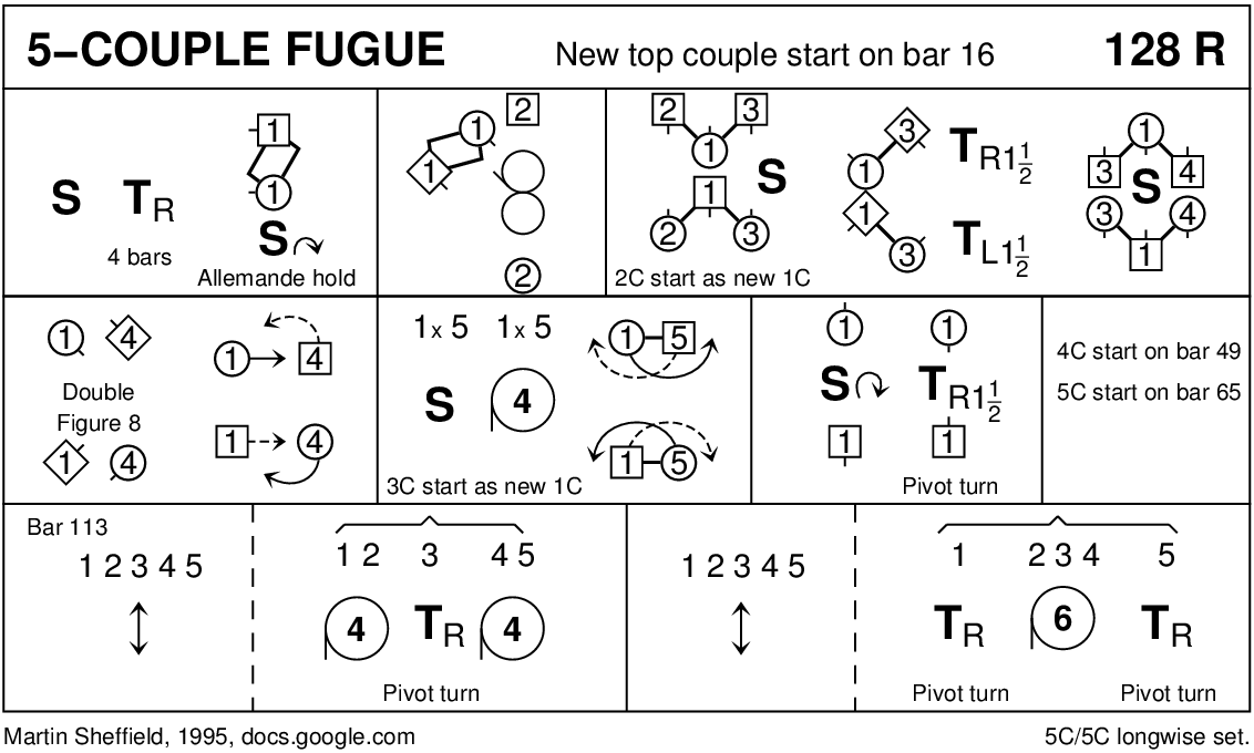 5 Couple Fugue (Sheffield) Keith Rose's Diagram